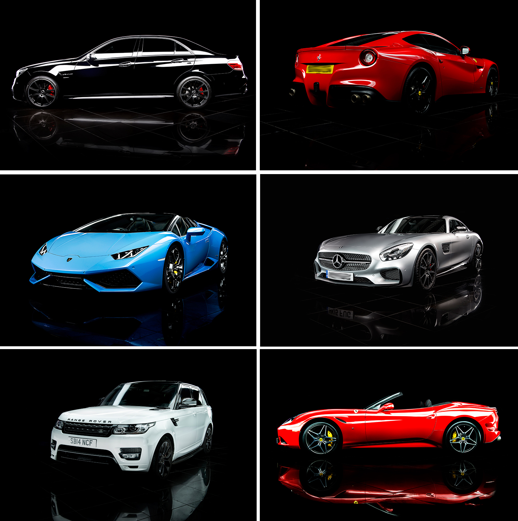 Supercar Club Cars