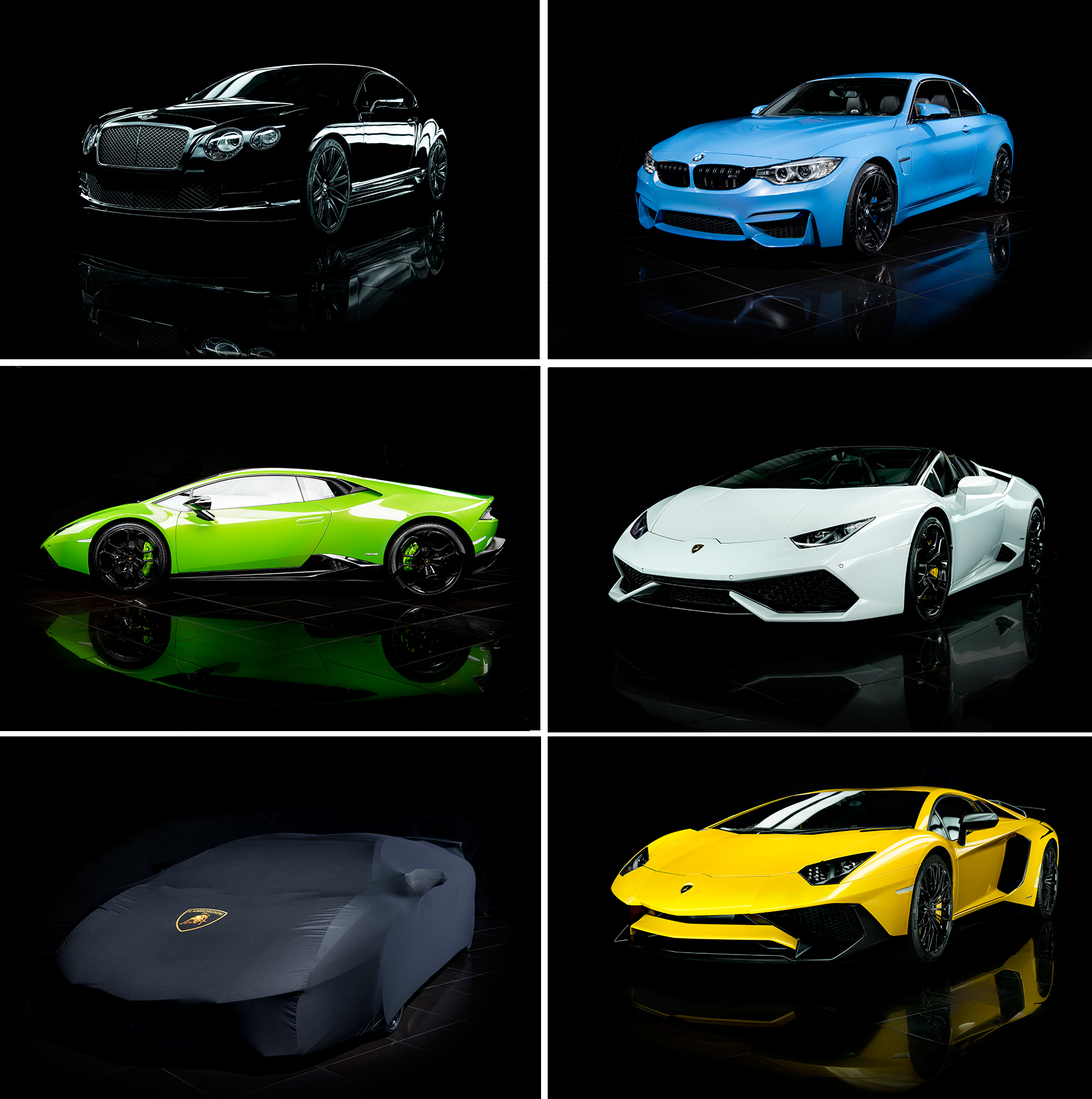 Supercar Club Vehicles
